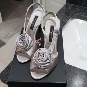 Nina Kirra Royal Silver Heels